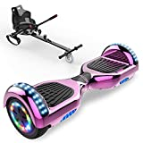 CITYSPORTS Scooter Hover Board 6.5', Hoverboard Bluetooth E-Scooter+Hoverkart