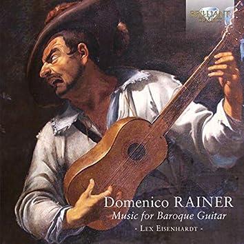 Rainer: Music for Baroque Guitar