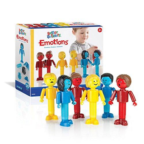 Guidecraft Better Builders Emotions Magnetic Figures, Social Emotional...