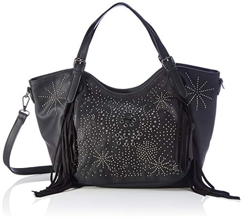 Desigual Accessories PU Shoulder Bag, Bolso bandolera. para Mujer, negro, U