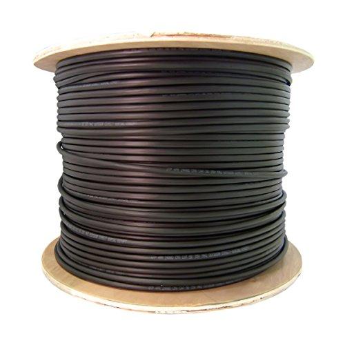 CableWholesale 6 Fiber Indoor/Outdoor Fiber Optic Cable, Singlemode,...