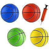 6.29 '16 cm plage petites balles rebondissantes bambins caoutchouc basket-ball sport jouet pour piscine enfants bébé garçons filles adultes école PlayGround intérieur extérieur bureau à domicile