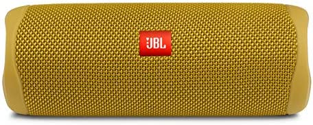 JBL FLIP 5, Waterproof Portable Bluetooth Speaker, Yellow (New Model)