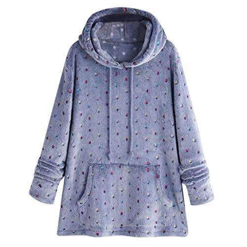 Dasongff pluche mantel dames vrouwen winterlosse warme hoodie sweatshirt capuchon mantel lange mouwen effen gebreide jas Batwing Jacket Faux voor outwear Zip winterjas Coat