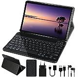 Tablet 10 Pulgadas Android 10.0 GOODTEL Tablet Dual SIM Quad-Core, 4GB de RAM, 64GB de Memoria Interna, Escalable 128GB, Cámara Dual 8000mAh Batería Bluetooth WiFi GPS, Type-C Tablet Gris