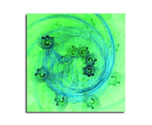 Moderne abstrakt042_60 x 60 cm sur toile motif abstrait intérieur décoration indémodable, 047