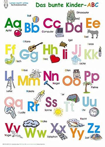 Das bunte Kinder-ABC. Poster / Das bunte Kinder-ABC: Deutsch