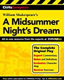 A Midsummer Night's Dream - Complete Study Edition (Cliffs Notes) by William Shakespeare (2001-04-15) - John Wiley & Sons - 15/04/2001