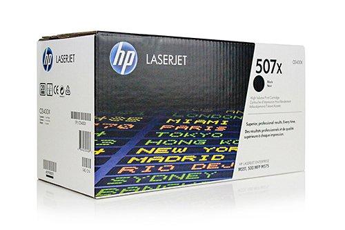 Original XXL Toner HP 507X CE400X - Premium Drucker-Kartusche - Schwarz - Original Seiten