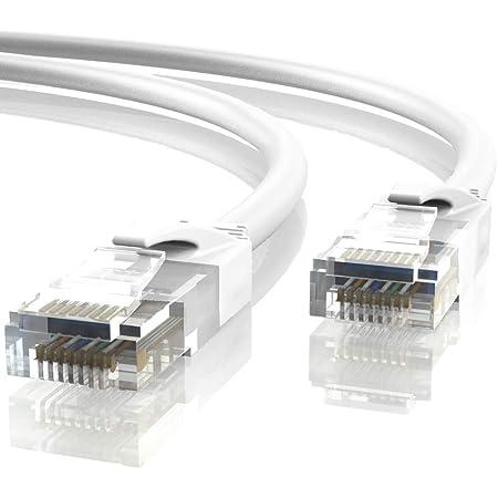 Mr Tronic 35m Ethernet Netzwerk Netzwerkkabel Computer Zubehör