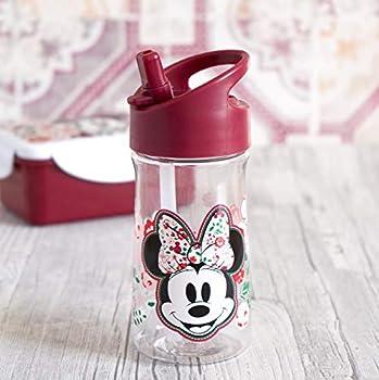 Disney Mickey & Minnie Kids Trinkflasche Disney Minnie Kids 350ml Neu Gourde Mixte Jeunesse, Multicolore, 350 ML