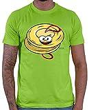 Hariz – Camiseta para hombre, diseño con texto en inglés 'Paarbeckend' verde claro S