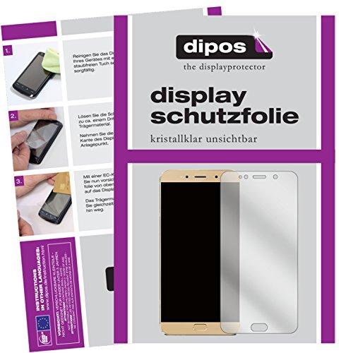 dipos I 2X Schutzfolie klar kompatibel mit Allview X4 Soul Lite Folie Bildschirmschutzfolie