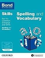 Bond Skills English Spelling and Vocabulary Age 8-9
