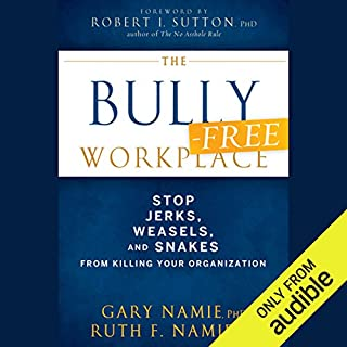 The Bully-Free Workplace audiobook cover art