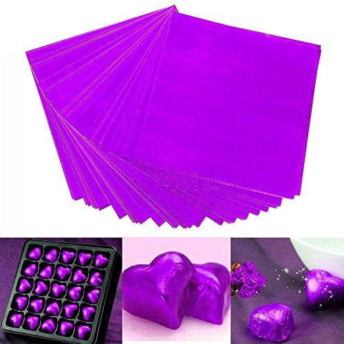 Bihood Schokoladen Papier Schokoladen Geschenkpapier Verpackungs Folien Papier Folien Verpackungs Papier Origami Papier Folien Papier Origami personalisierte Bonbon Folien Verpackungen
