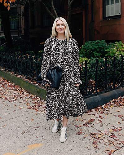 The Drop Women's Leopard Print Midi Dress by @somewherelately