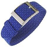 Eulit Palma - Correa para reloj (20 mm), color azul