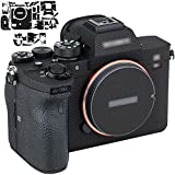 Custom fit design for Sony A7R IV only. Upgrated to 3M sticker, no traces when removed Protects your camera against unwanted scratches Decorates your camera to be more stylish and unique look, accurate cutouts, easy to install Material: PVC Film