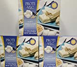 3 Box Value Pack (21 Servings) Proti Fit VLC - Fluffy Vanilla Crisp Low-Carb 15g Protein Diet Bar - High Fiber Weight Loss Snack/Post Workout Protein Bar Bar - Gluten Free