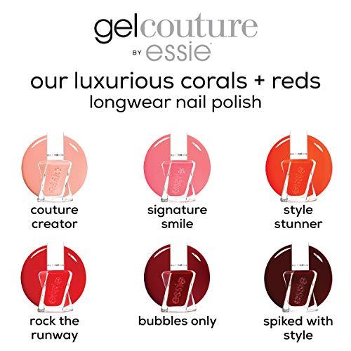essie Gel Couture 2-Step Longwear Nail Polish, Rock The Runway, Red Nail Polish, 0.46 fl. oz.