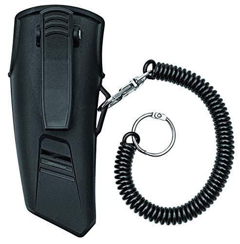 Wedo 798251 gordeltas voor Safety Cutter 78825 en 79825, kunststof met clip, karabijnhaak, spiraalkoord, ca. 12 x 5 x 4 cm, zwart.