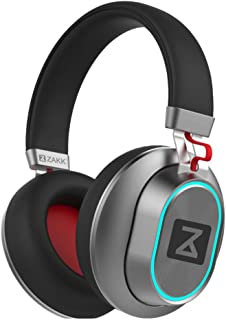Zakk H04 Blaze Wireless Bluetooth Headphones with Mic (Black)