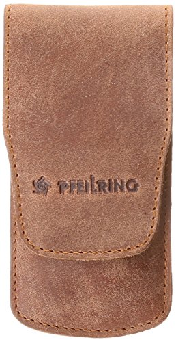 Flecha anillo Uni funda Funda, piel de búfalo, marrón, 4-tlg. Manicura, multicolor, One size