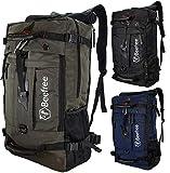 Beefree 50 liter 3-in-1 anti diebstahl rucksack outdoor wanderruckscke multifunktional wasserdicht...