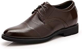 [AJGLJIYER LTD] ビジネスシューズ メンズ シューズ ラウンドトゥ プレーンヒール 紳士靴 革靴 合皮 PUレザー クロスバンドストラップ レースアップ 滑り止め 軽量 コンフォート 通勤 パーティー