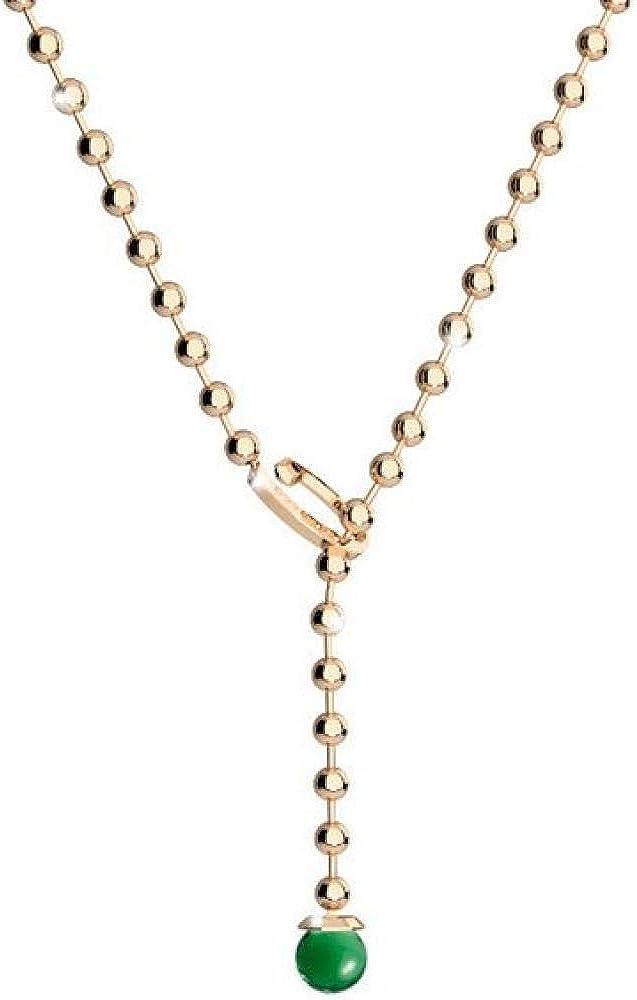 Rebecca collana per donna collana in bronzo e pietre BBYKOS01