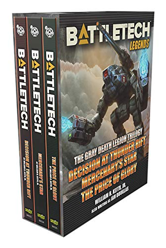 Battletech Legends: The Gray Death Legion Trilogy: BattleTech Legends Box Set #1 (English Edition)