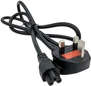 كيل لشاحن اللابتوب UK plug Laptop PC AC Power Cord Cable