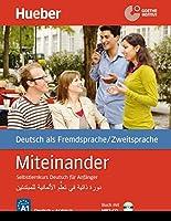 Miteinander. Selbstlernkurs Deutsch fuer Anfaenger. Arabische Ausgabe. Mit 1 MP3-CD: Buch mit MP3