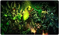 ワールドオブウォークラフト マウスパッド World of Warcraft マウスパッド 大型 WOW プレイマット ゲーミング オフィス最適 防水 滑り止め 耐久性が良いゲーム おしゃれ, ワールドオブウォークラフト マウスパッド ゲーミング マウスパッド ゲーム 水洗い 光学式マウス適用 60X35cm-92