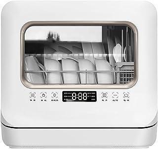 XHCP lavavajillas Inicio Lavavajillas Lavables FulAutoAtic Mini lavavajillas Lavable con función de esterilización/Secado Programas programables, estantes para Cubiertos Desmontables