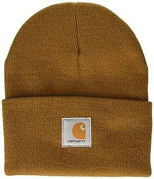 Carhartt Men s Knit Cuffed Beanie Brown One Size
