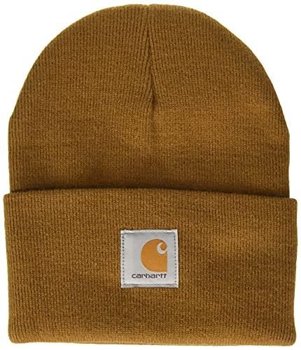 Carhartt Men's Knit Cuffed Beanie, Brown, One Size