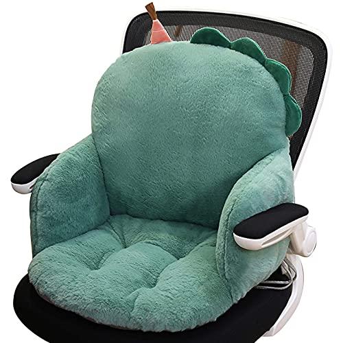 Cuscino per sedia da lettura con animali carini,Cuscino per sedia a rotelle antiscivolo addensato per divano e ufficio