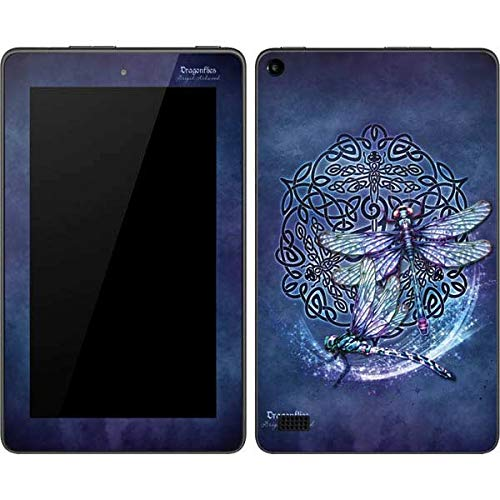 Skinit Decal Tablet Skin Compatible with Kindle Fire (7in 2015) - Originally Designed Dragonfly Celtic Knot Design