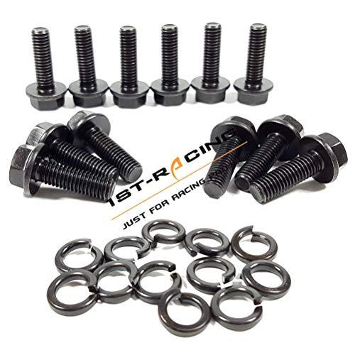 Ford 429  460 Allen Socket Head Black Oxide Gr 8 Exhaust Header Bolt Kit NEW