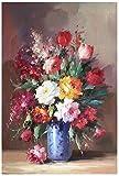 Handgemalte Abstrakte Blumen Kunst Ölgemälde Auf Leinwand Wandkunst Wandschmuck Bild Malerei Für Wohnzimmer Home Decor Rahmenlose Malerei