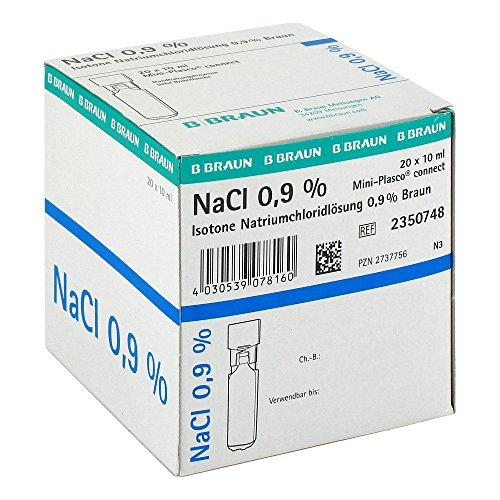 Kochsalzl�sung 0,9% Miniplasco connect, 20X10 ml