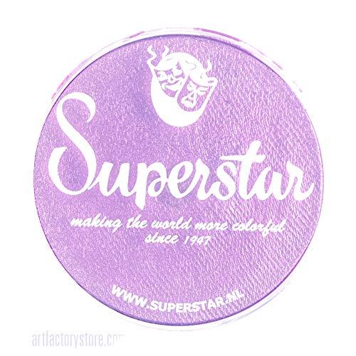 Superstar face à la peinture - Star Violet Shimmer 337, hypoallergéniques, sans gluten et Cruelty Free - Enfants bienvenus, Idéal pour les foires, carnavals, Party & Halloween Peinture (16 g)