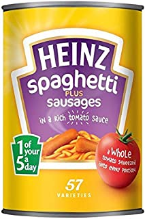 Heinz Spaghetti with Sausages - 400g