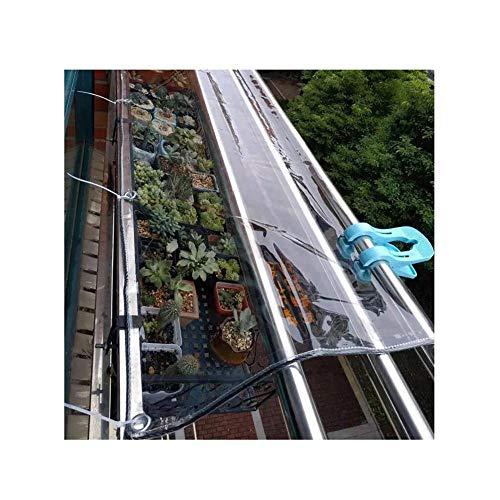 Clear Tarp Plastic Tarps For Sun And Rain Aging Resistant Tear Resistant Cold Resistant Durable Waterproof Tarpaulin-1X2M/3.28X6.56Ft