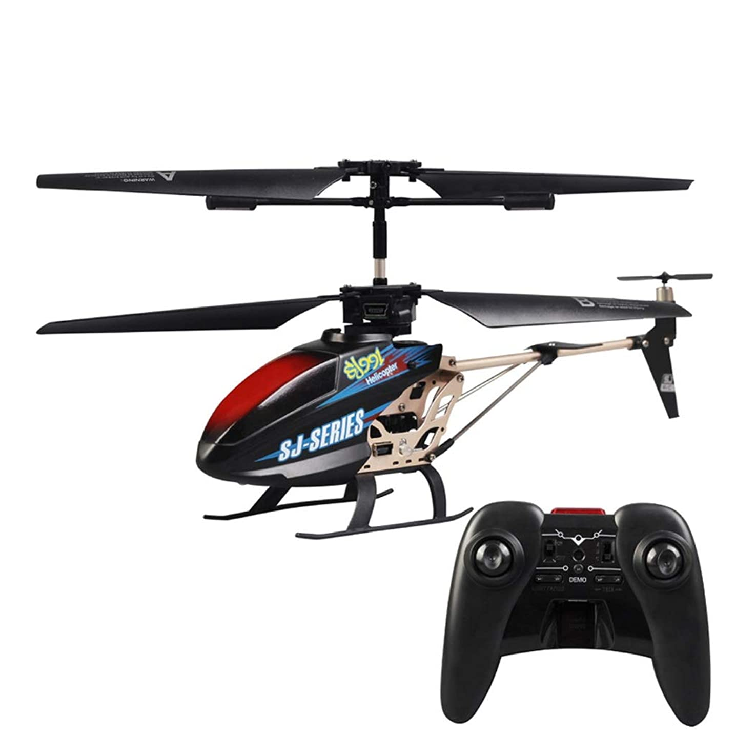 3.5 Channel Remote Control Helicopter, Infrared Remote Control, Alloy Casing Remote Control Aircraft, LED Lights for Anti-Collision Helicopter Remote Control Drone Toy Gifts (Color : 2)