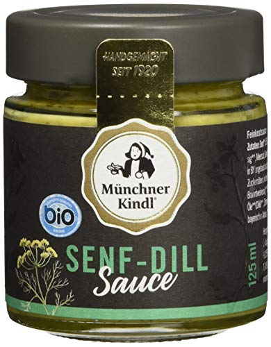 Münchner Kindl Senf- Dill-Sauce, 6er Pack (6 x 125 ml)
