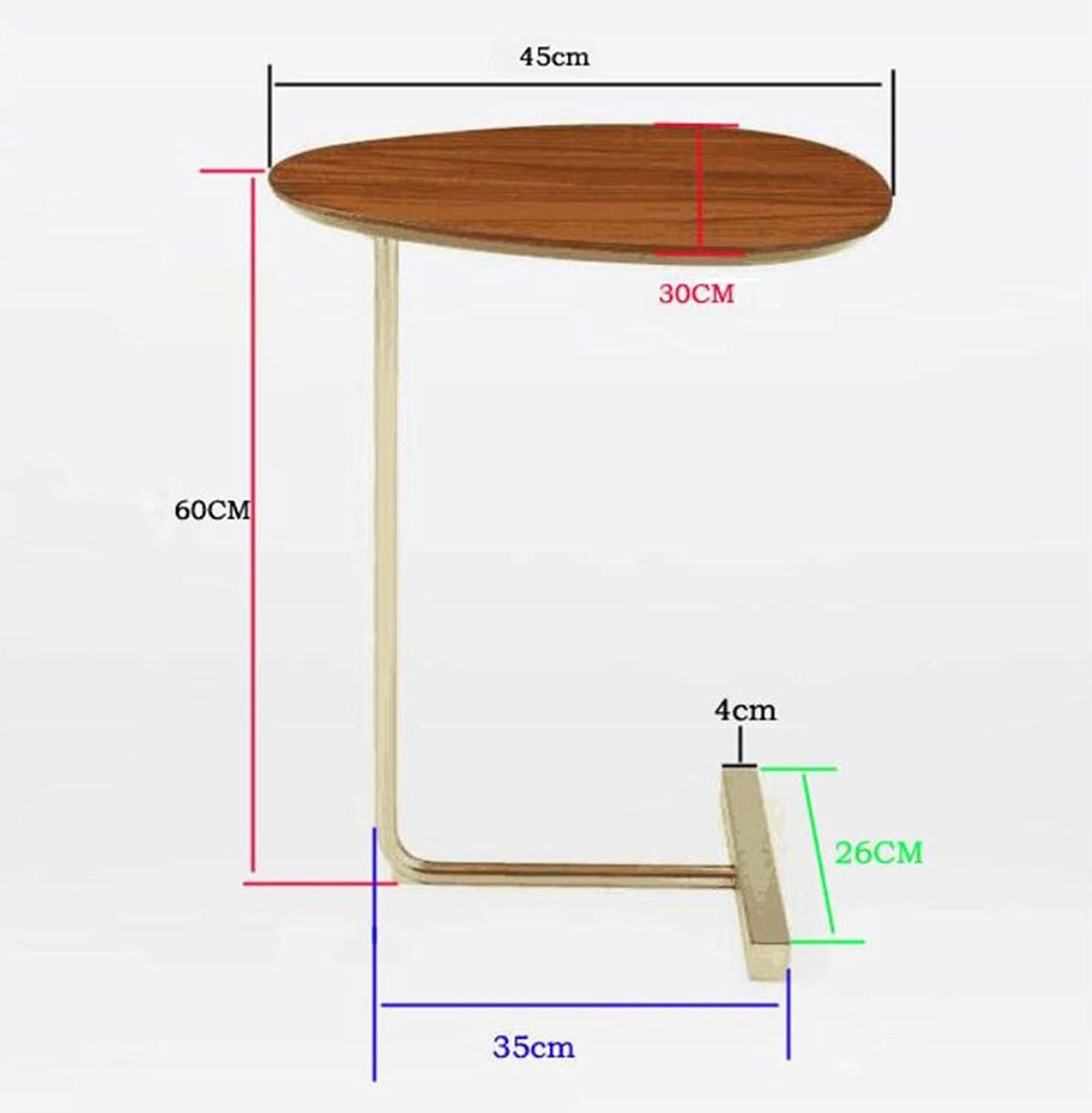 Folding Table- Wooden Sofa Table, Small Table Dessert Table Bedroom Small Desk Multi-Function Storage Table Living Room Sofa Side Mobile Small Coffee Table 45  30  60cm Wall-Mounted Table