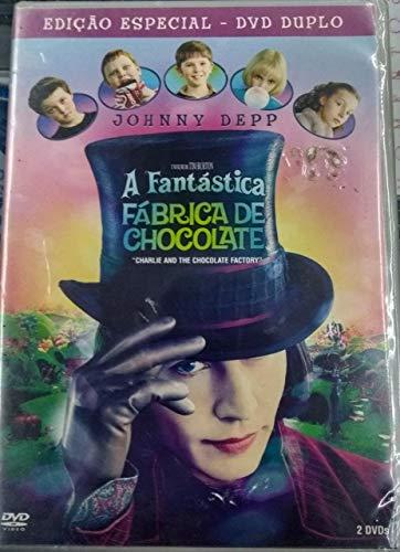 DVD DUPLO A FANTÁSTICA FÁBRICA DE CHOCOLATE
